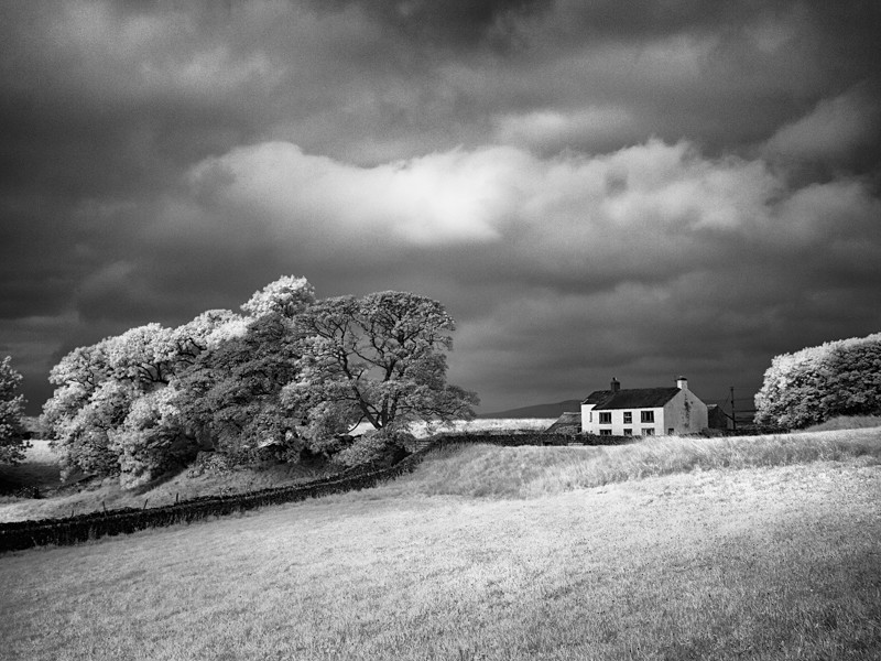 Hilltop Cottage, Infrared - Infrared