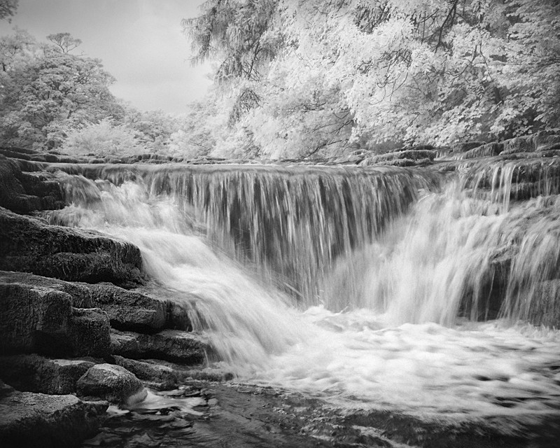 Stainforth Falls, Infrared - Infrared