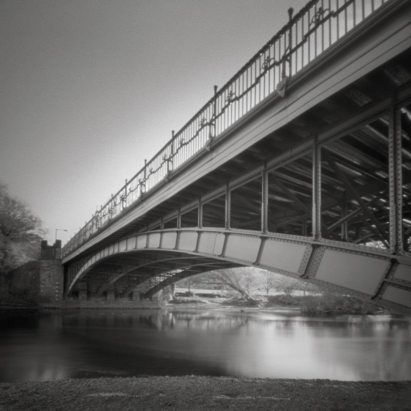 Ilkley Iron Bridge Study #2, Pinhole (square format) - Bridges & Tunnels