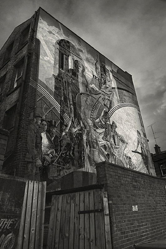 Wall Art Briggate Leeds in Black and White - Abstract & Still Life