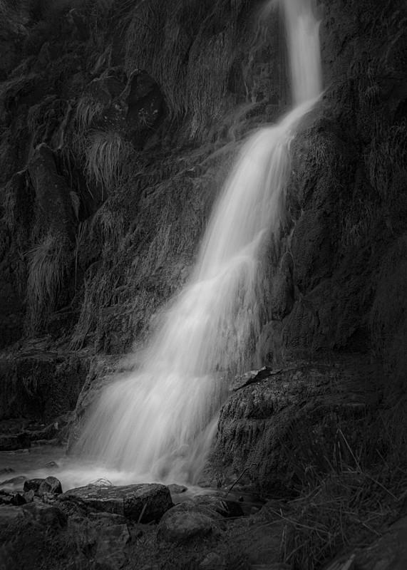 Waterfall on Ilkley Moor - Water