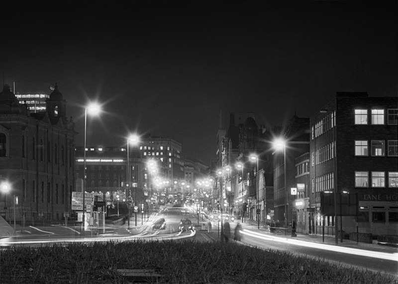 Leeds From Westgate - Night Exposures