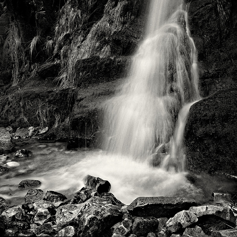 Little Falls (square format) - Water