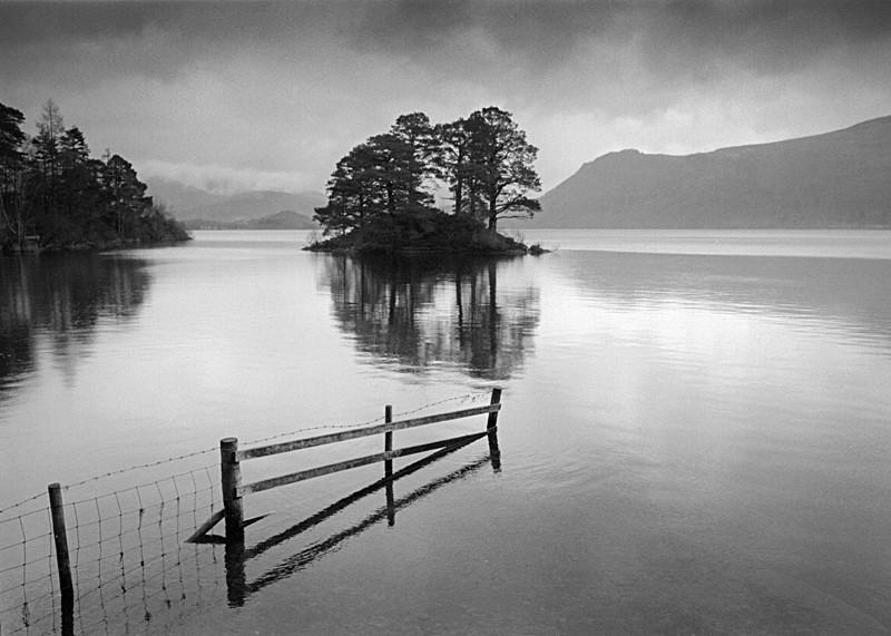 Derwent Water Scene - Water