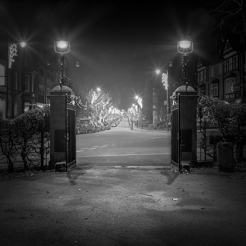 The Grove Ilkley (square format) - Otley and Ilkley at Night