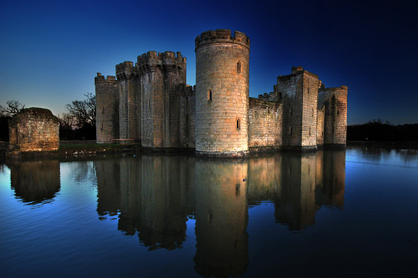 Bodiam Reflections - United Kingdom