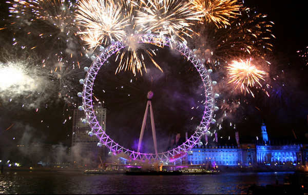 New Year Celebrations - United Kingdom