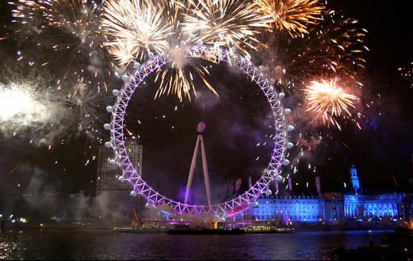 New Year Celebrations - United Kingdom