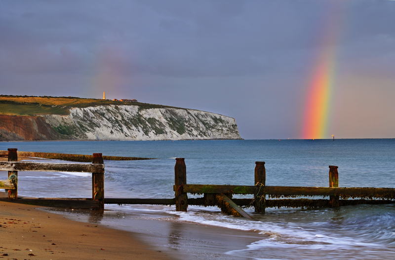 z1377 Rainbow, Culver Cliff - Sandown, Shanklin, Luccombe and Wroxall