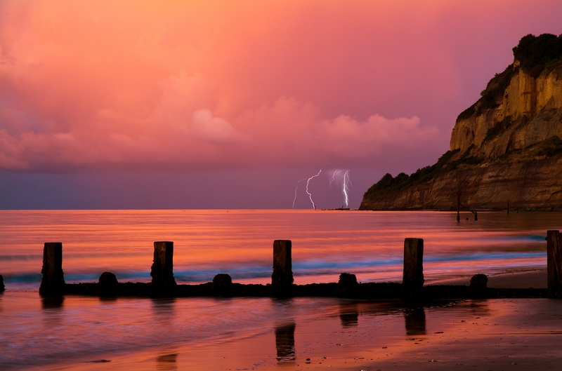 z1040 Lightning, Shanklin Chine - Sandown, Shanklin, Luccombe and Wroxall