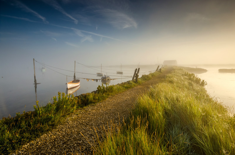 z3150 Morning Mists of Newtown - Yarmouth to West Cowes