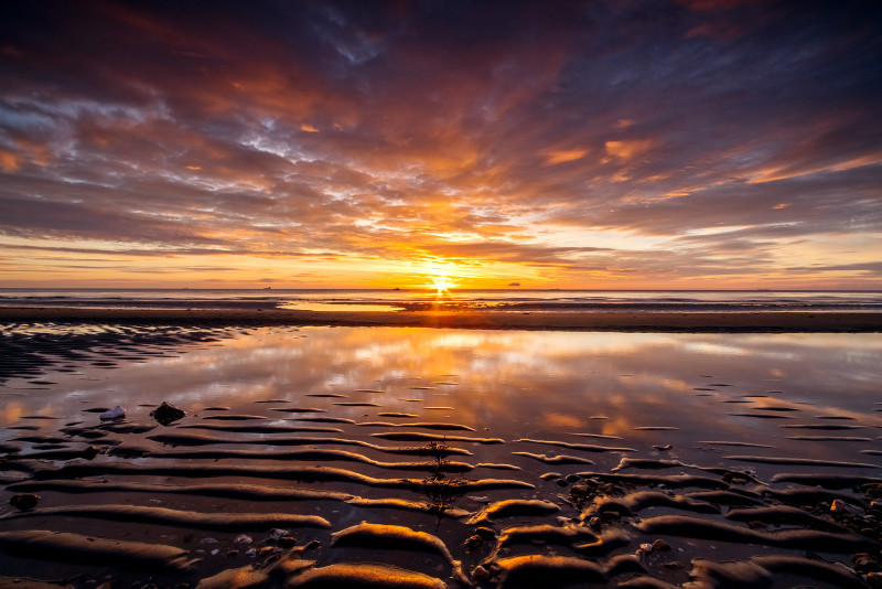 z3139 Shanklin Chine Beach Sunrise - Latest Photos