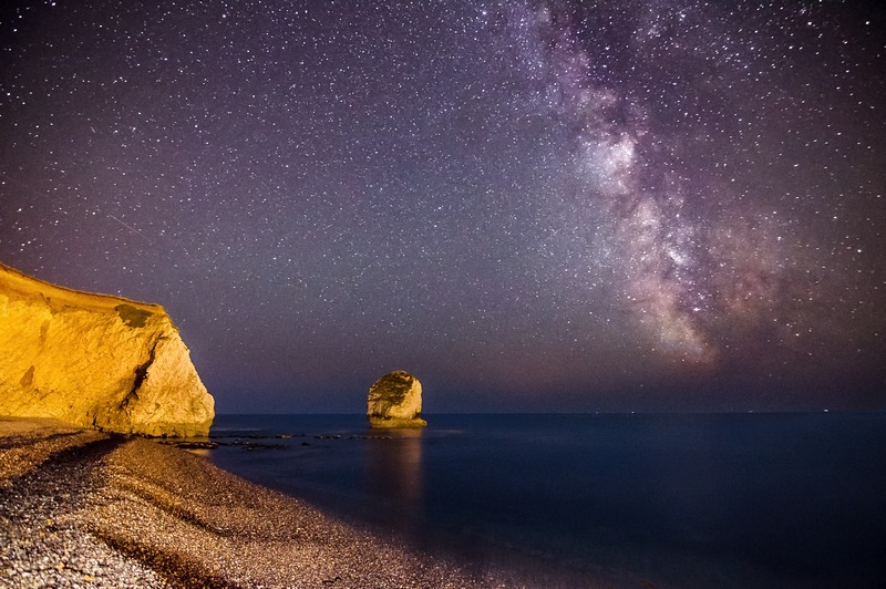 z2221 The Milkyway over Freshwater Bay - Freshwater Bay to Colwell Bay