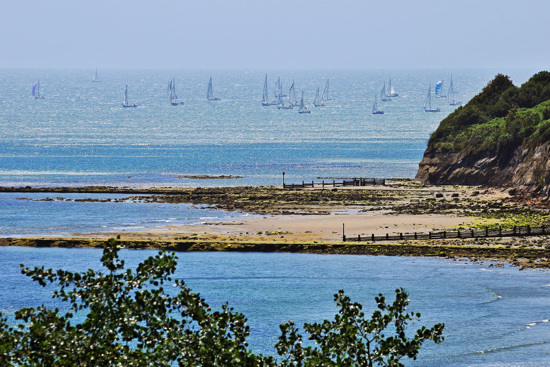 z2935 Round the Island Race - Sandown, Shanklin, Luccombe and Wroxall