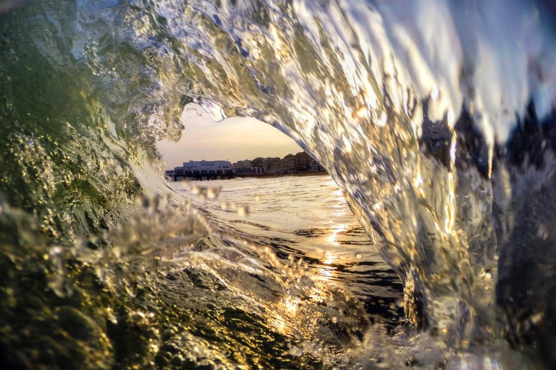 z2520 Glassy Hollow Wave, Sandown Bay - Sandown, Shanklin, Luccombe and Wroxall