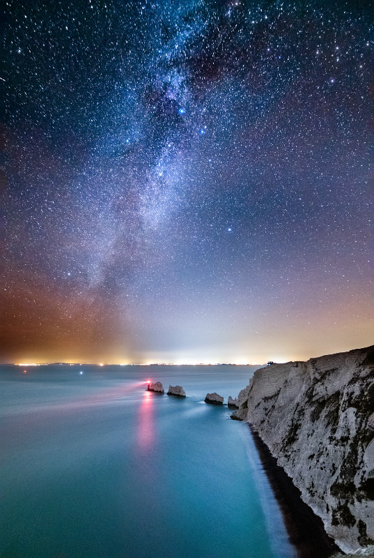 z3136 Winter Milky Way over the Needles - Latest Photos