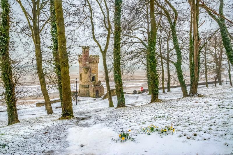 z3185 Spring Snow at Appley - Latest Photos