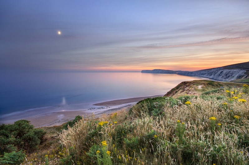 z2225 Dusk View, Compton Bay - Blackgang to Compton inc West Wight