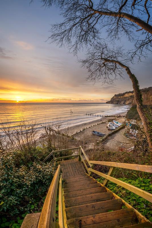 z3167 Sunrise, Fishermans Beach, Shanklin - Sandown, Shanklin, Luccombe and Wroxall