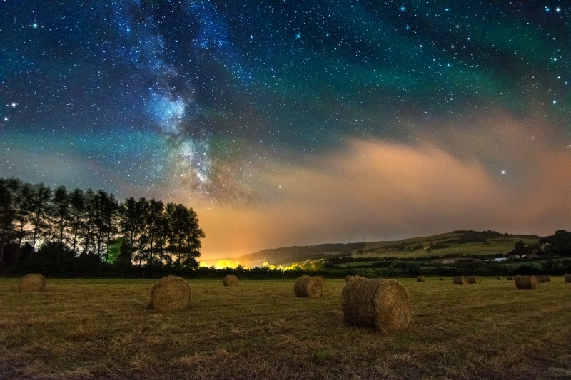 z2771 Wroxall under the Stars - Sandown, Shanklin, Luccombe and Wroxall