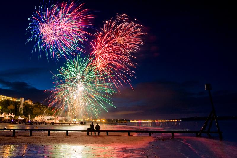 z1900 Fireworks, Shanklin Regatta - Sandown, Shanklin, Luccombe and Wroxall