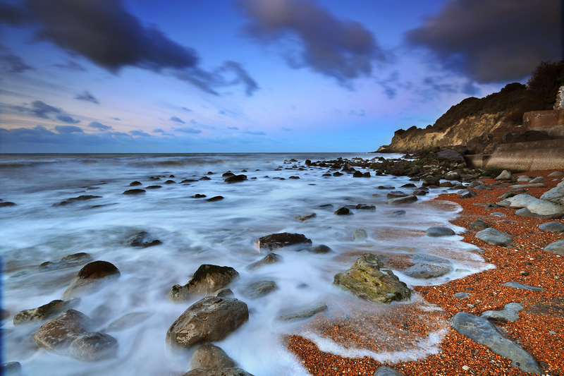 z1280 Dawn, Steephill cove - Ventnor to St Catherine's inc Bonchurch & Whitwell