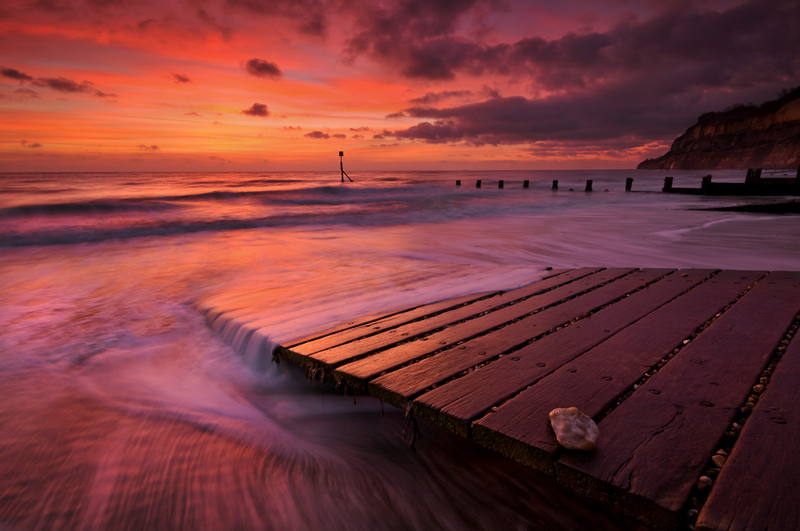 z1478 Fishermans Slipway at Dawn, Shanklin - Sandown, Shanklin, Luccombe and Wroxall