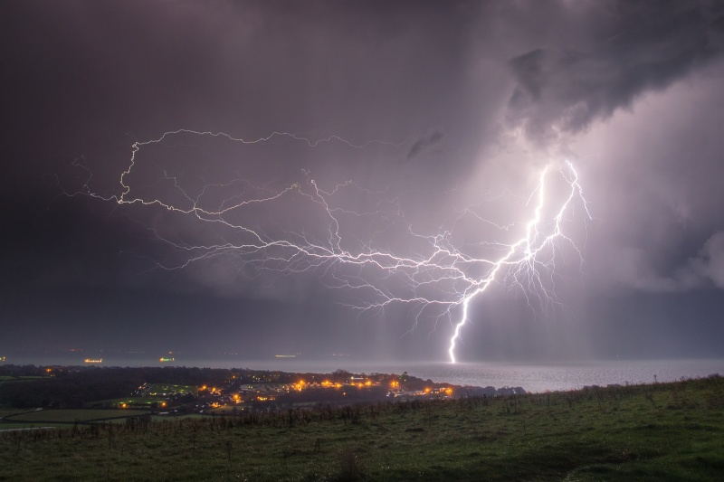 z2554 Channel Strike from Culver Down - The Lightning Gallery