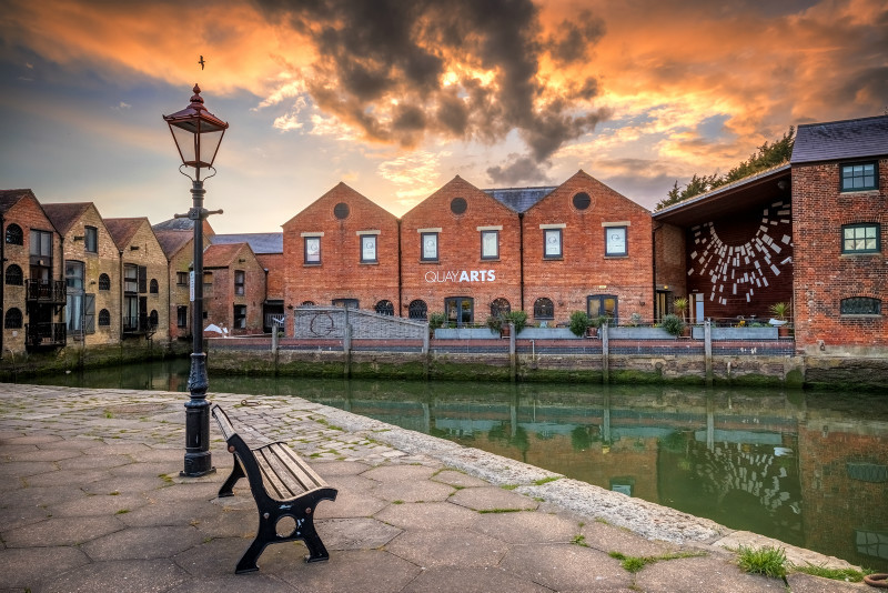 z3110  Quay Arts on the Medina Newport2 - The Inner Island inc Newport & Godshill
