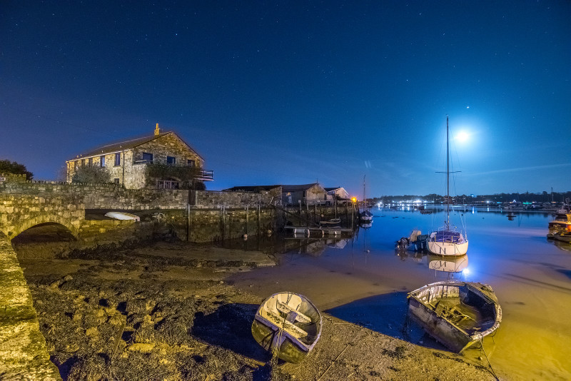 z3209 Bembridge Harbour by Moonlight - Latest Photos