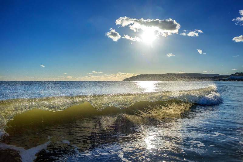 z2853 Sunshine Surf, Sandown Bay - Sandown, Shanklin, Luccombe and Wroxall