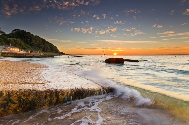z2117 Colwell Bay at Sunset - Freshwater Bay to Colwell Bay