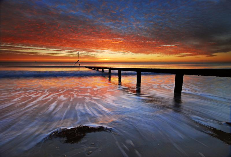 z1217 Shanklin Dawn - Sandown, Shanklin, Luccombe and Wroxall