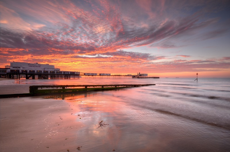 z2249 Sunrise, Sandown Pier - Sandown, Shanklin, Luccombe and Wroxall