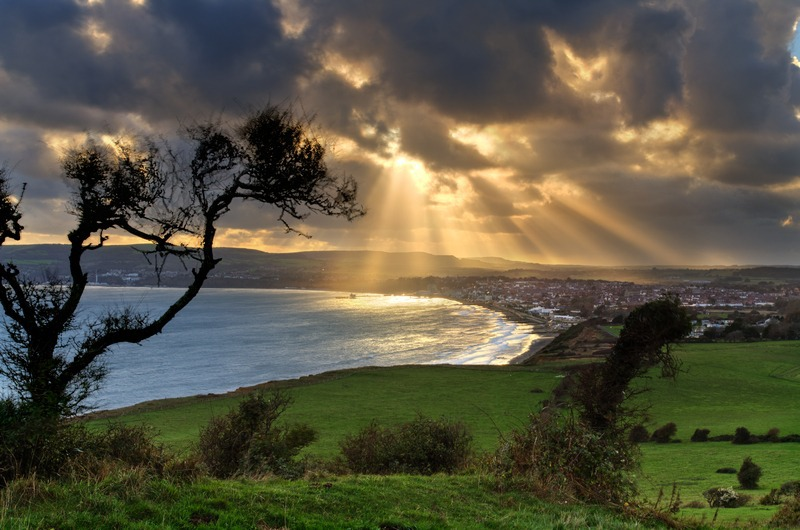 z2296 Stormy Light, Sandown Bay - Sandown, Shanklin, Luccombe and Wroxall