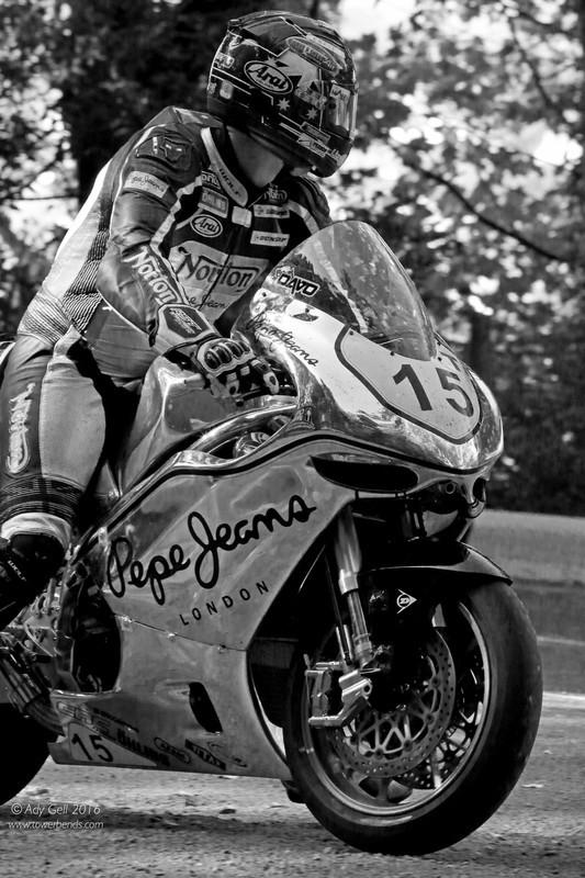 Dave Johnson - Norton SG5 - TT 2016