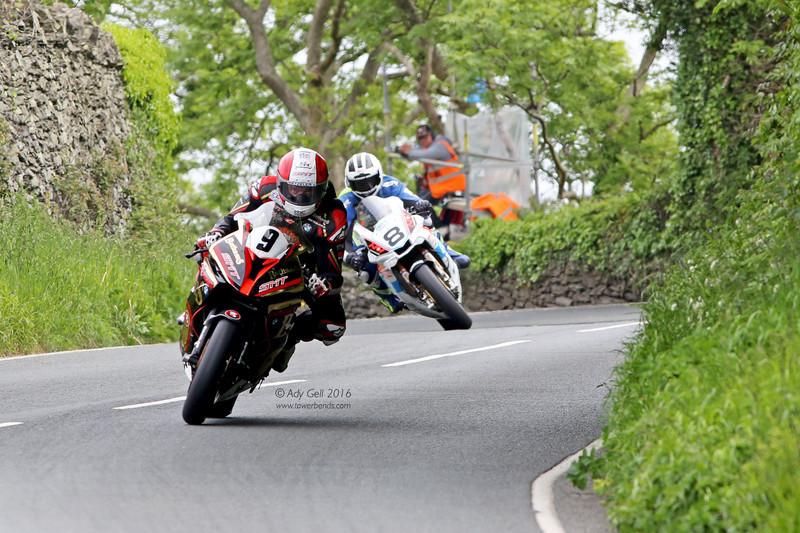 Michael Rutter and William Dunlop - TT 2016