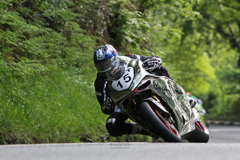 Dave Johnson - Norton SG5 - TT 2016