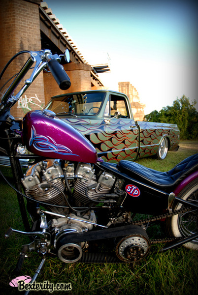 - Dean's Chev PickUp & Bike