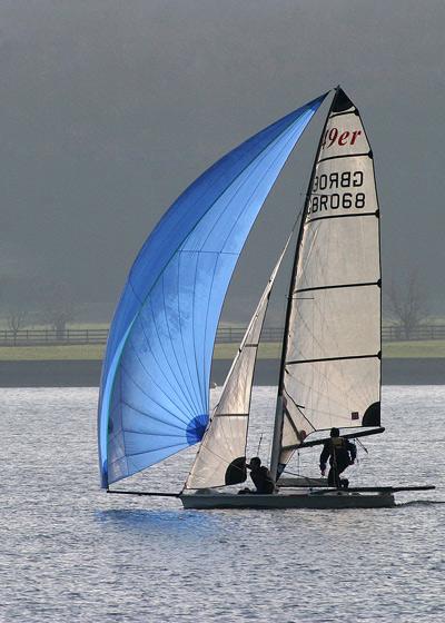 Sailing at Farmoor - Transportation