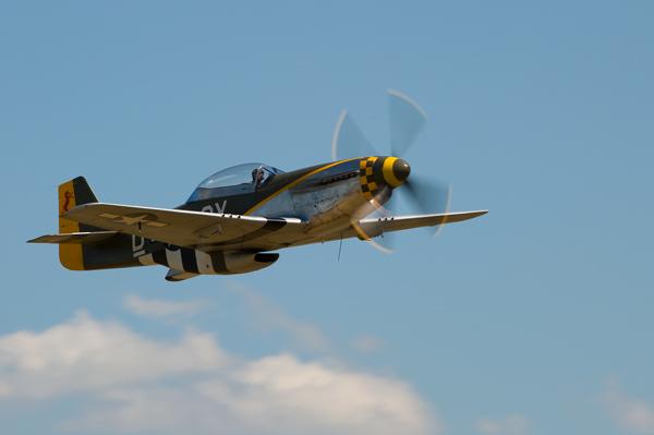 P 51D  Mustang - Aviation