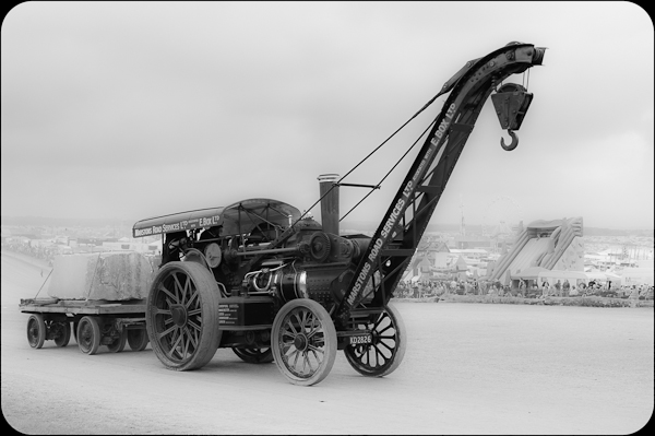 Steam Crane - Transportation