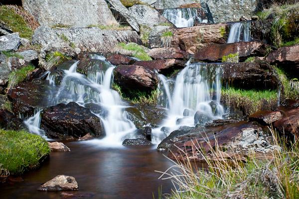 Elan Valley Waterfall - Travel & Landscapes