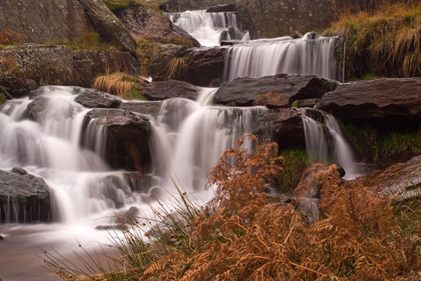 Elan Valley Waterfall - Travel & Landscapes