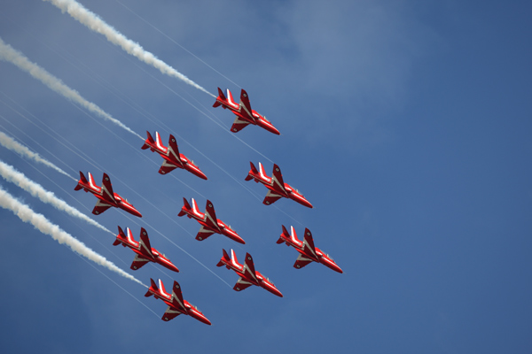 The Red Arrows - Aviation