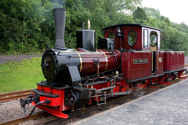 Mountain Train - Transportation