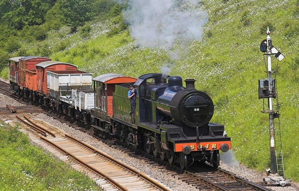 Goods Train - Transportation