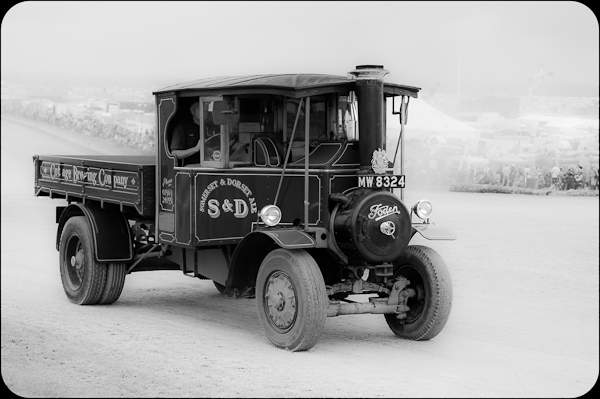 Steam Lorry - Transportation