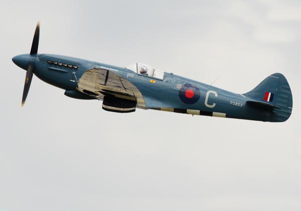 Blue Spitfire - Aviation