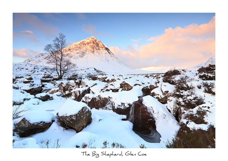 The Big Shepherd, Glen Coe - Scottish Highlands